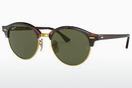 Occhiali da vista Ray-Ban Clubround (RB4246 990) - Marrone, Avana