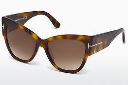 Lunettes de soleil Tom Ford Anoushka (FT0371 53F) - Havanna, Yellow, Blond, Brown