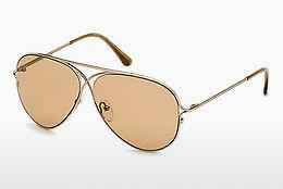 Occhiali da vista Tom Ford Tom N.4 (FT0488-P 28E) - Oro