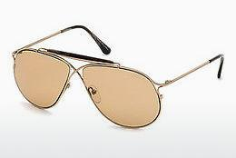 Occhiali da vista Tom Ford Tom N.6 (FT0489-P 28E) - Oro