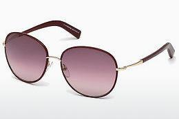 Occhiali da vista Tom Ford Georgia (FT0498 69T) - Borgogna, Bordeaux, Shiny