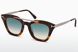 Lunettes de soleil Tom Ford FT0575 53P - Jaunes, Brunes, Havanna