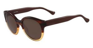 Calvin Klein CK4313S 506 STRIPED HAVANA ORANGE