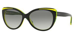 DKNY DY4125 366511 GREY GRADIENTTOP BLACK ON YELLOW TR