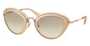 Miu Miu MU 51RS UFD3H2 LIGHT BROWN GRAD LIGHT GREENTRANSPARENT PINK/MIRROR PINK