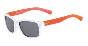 Nike NIKE CHAMP EV0815 106 WHITE/CRYSTAL HYPER CRIMSON WITH GREY W/SILVER FLASH LENS LENS