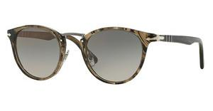 Persol PO3108S 1019M3 GREY GRADIENT DARK GREY POLARSTRIPED BEIGE