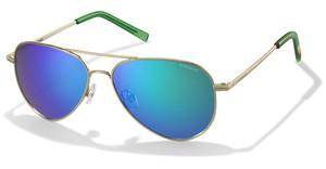 Polaroid PLD 6012/N J5G/K7 GREEN SP PZGOLD (GREEN SP PZ)