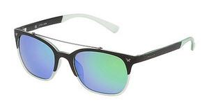 Police SPL161 6PCV GREEN MULTILAYER GREENNERO SEMI OPACO