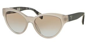 Prada PR 08SS UFH4S2 LIGHT BLUE GRAD LIGHT BROWNOPAL BEIGE