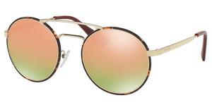 Prada PR 51SS 2AU5L2 GREY MIRROR ROSE GOLDPALE GOLD/DARK HAVANA