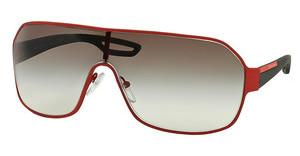 Prada Sport PS 52QS UAB0A7 GREY GRADIENTRED RUBBER