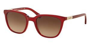 Ralph RA5206 150713 DARK BROWN GRADIENTRED