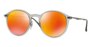 Ray-Ban RB4224 650/6Q BROWN MIRROR ORANGEMATTE GREY