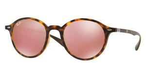 Ray-Ban RB4237 894/Z2 LIGHT BROWN MIRROR PINKMATTE HAVANA