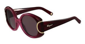 Salvatore Ferragamo SF811S SIGNATURE 605 BURGUNDY GRADIENT