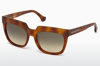 Sonnenbrille Balenciaga BA0068 53B - Havanna, Yellow, Blond, Brown