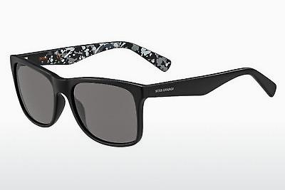 Sonnenbrille Boss Orange BO 0211/S MYC/Y1 - Schwarz, Grau, Flowers