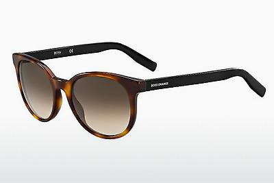 Sonnenbrille Boss Orange BO 0256/S SFC/J6 - Schwarz, Braun, Havanna