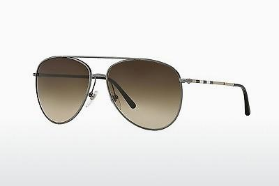 Sonnenbrille Burberry BE3072 100313 - Grau, Rotguss