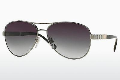Sonnenbrille Burberry BE3080 10038G - Grau, Rotguss