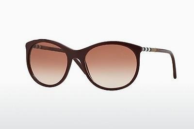 Sonnenbrille Burberry BE4145 340313 - Rot, Bordeaux