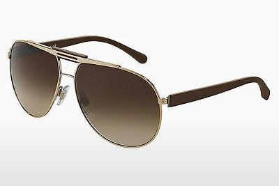 Sonnenbrille Dolce & Gabbana OVER MOLDED RUBBER (DG2119 119013) - Gold