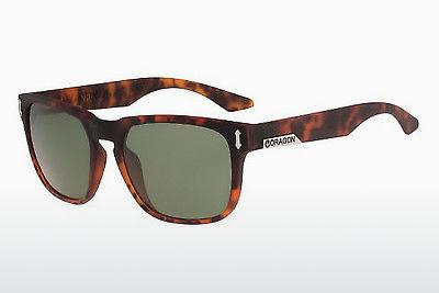 Sonnenbrille Dragon DR513S MONARCH 226 - Braun, Havanna