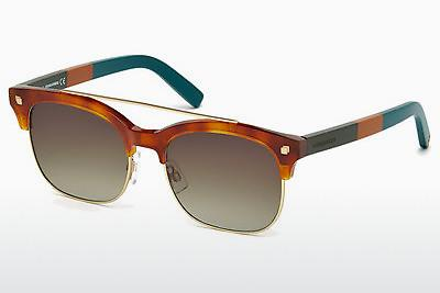 Sonnenbrille Dsquared DQ0207 53K - Havanna, Yellow, Blond, Brown