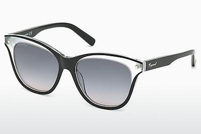 Occhiali da vista Dsquared DQ0210 03B - Nero, Transparent