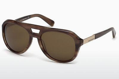 Occhiali da vista Dsquared DQ0237 47E - Marrone, Bright