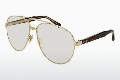 Sonnenbrille Gucci GG0054S 004 - Gold