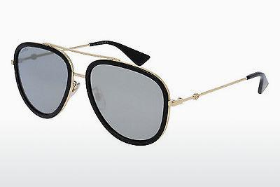 Sonnenbrille Gucci GG0062S 001 - Gold