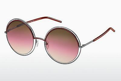 Sonnenbrille Marc Jacobs MARC 11/S TWZ/BE - Silber, Rot