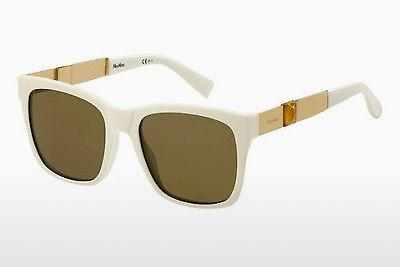 Lunettes de soleil Max Mara MM STONE I VWH/OC - Blanches, Or