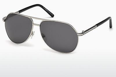 Sonnenbrille Mont Blanc MB504S 16A - Silber, Shiny, Grey