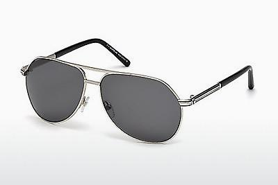 Sonnenbrille Mont Blanc MB504T 16A - Silber, Shiny, Grey