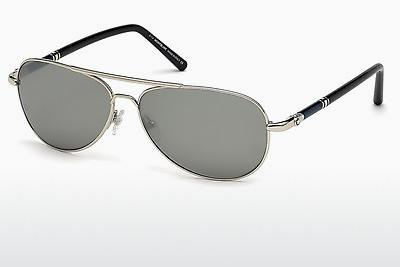 Sonnenbrille Mont Blanc MB509S 16C - Silber, Shiny, Grey