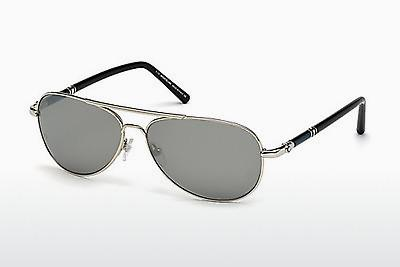 Sonnenbrille Mont Blanc MB509T 16C - Silber, Shiny, Grey