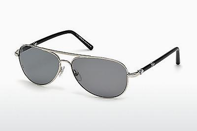Sonnenbrille Mont Blanc MB509T 16D - Silber, Shiny, Grey
