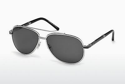 Sonnenbrille Mont Blanc MB511T 16A - Silber, Shiny, Grey
