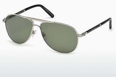 Sonnenbrille Mont Blanc MB512S 16R - Silber, Shiny, Grey