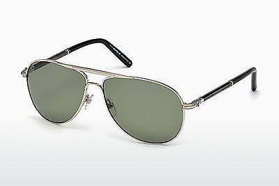 Sonnenbrille Mont Blanc MB512T 16R - Silber, Shiny, Grey