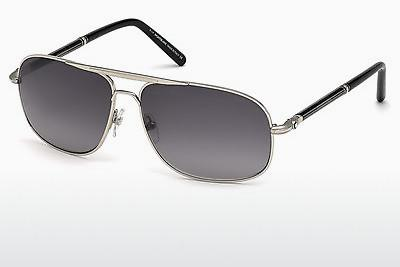 Sonnenbrille Mont Blanc MB513S 16B - Silber, Shiny, Grey