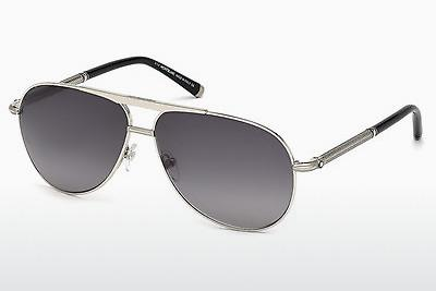Sonnenbrille Mont Blanc MB517S 16B - Silber, Shiny, Grey