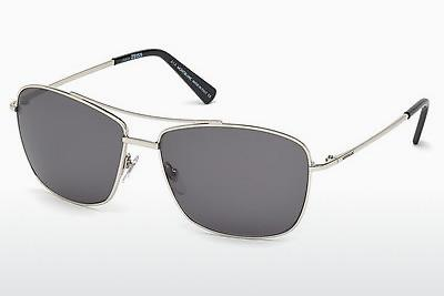Sonnenbrille Mont Blanc MB548S 16A - Silber, Shiny, Grey