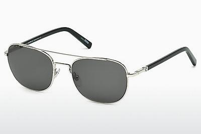 Sonnenbrille Mont Blanc MB597S 16A - Silber, Shiny, Grey