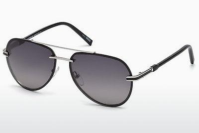 Sonnenbrille Mont Blanc MB643S 16B - Silber, Shiny, Grey