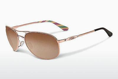 Sonnenbrille Oakley GIVEN (OO4068 406805) - Rosa, Gold