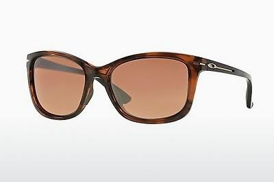 Sonnenbrille Oakley DROP IN (OO9232 923204) - Braun, Havanna